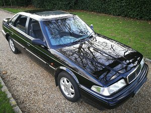 1994 Rover 827 V6 Manual. 2.7 Honda Engine. Rare Black. For Sale