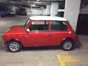 1991 Rover Mini Cooper Red White For Sale