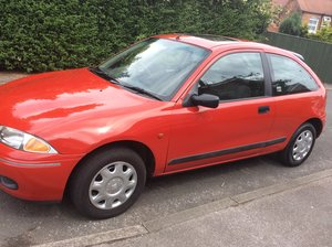 1998 Low mileage rover 200  1.4  starter classic