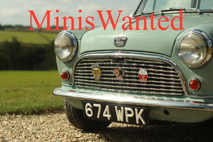 ** MINIS WANTED ---- MINIS WANTED **