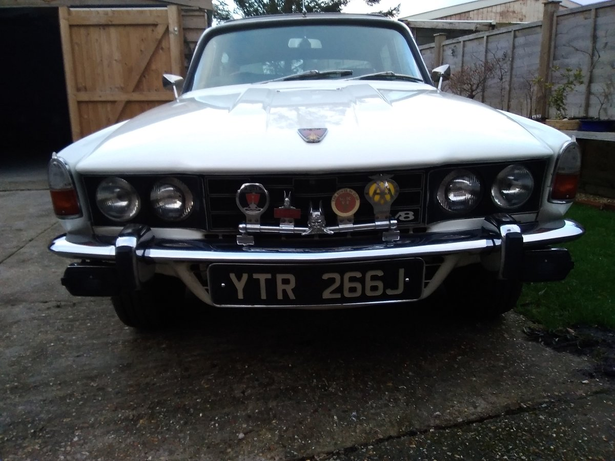 1971 Rover p6 v8 huntsman For Sale (picture 2 of 6)
