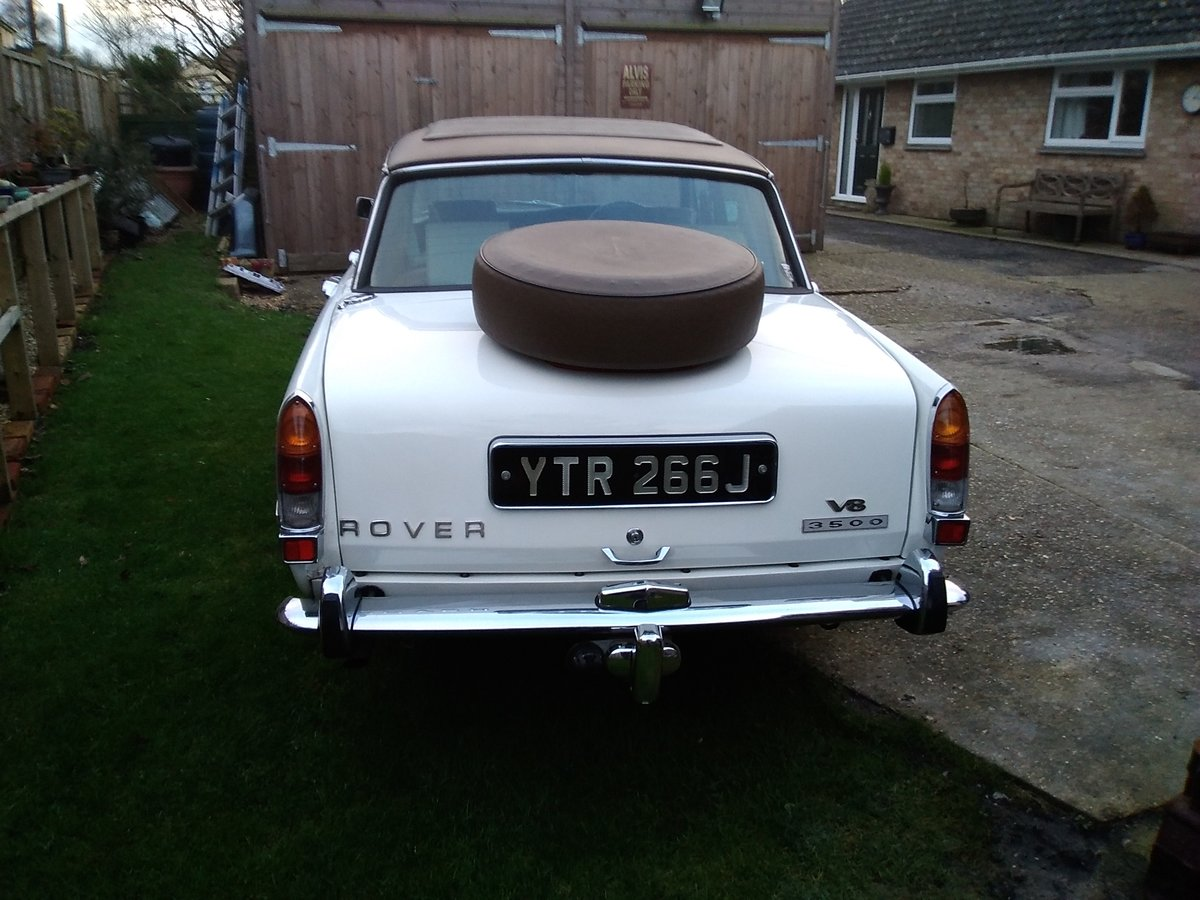 1971 Rover p6 v8 huntsman For Sale (picture 4 of 6)