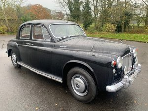 **REMAINS AVAILABLE** 1961 Rover P4 100
