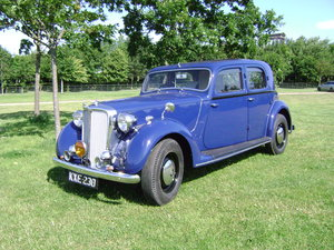 1949 ROVER P3 4 light Sports Saloon