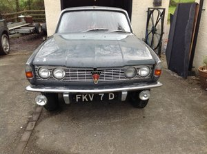 1966 Rover P6 2000SC  SERIES 1 For Sale