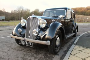1946 Rover P2 16 Six Cylinder 2147cc Saloon With Sun Roof
