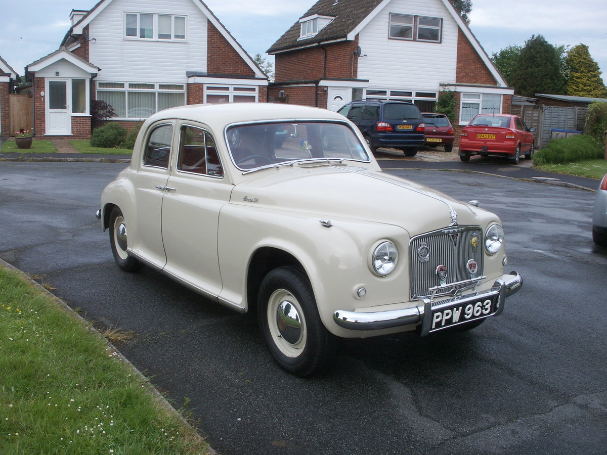 1954 Rover P4 90  For Sale (picture 2 of 6)