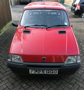 1992 Rover Metro 1.1C - 1 owner - low mileage - red For Sale