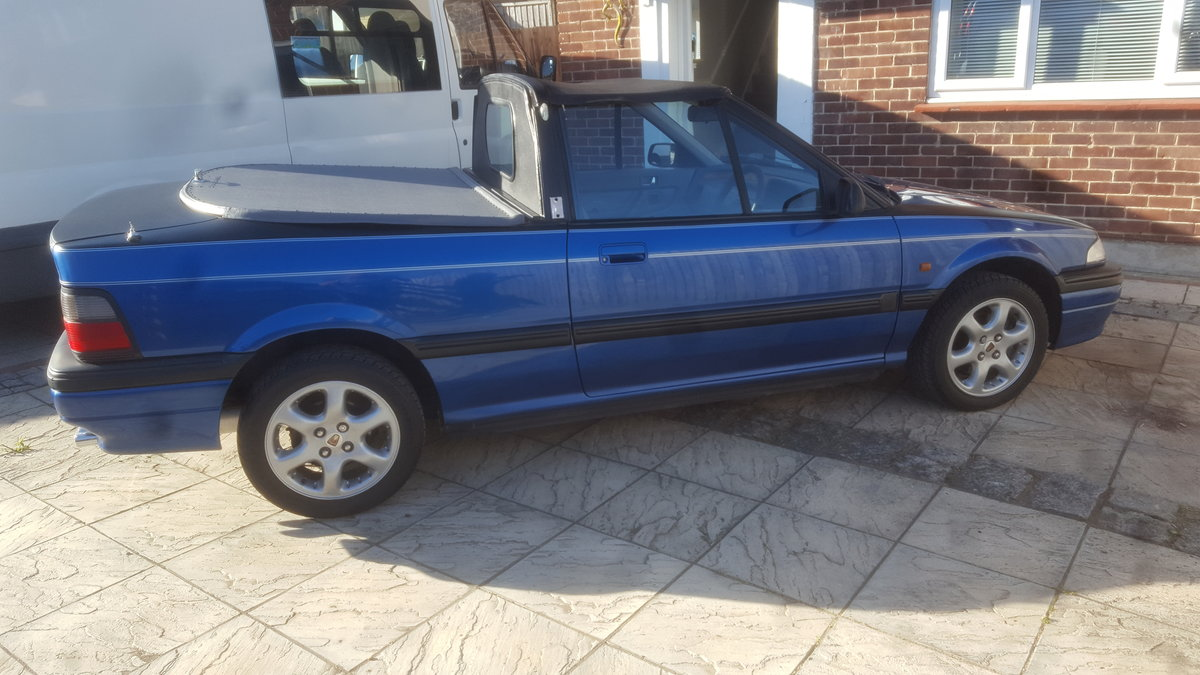 1992 Rover 216i automatic pick-up For Sale (picture 1 of 6)