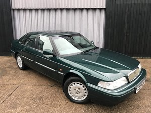 Stunning 1999 Rover 825i Sterling **38,815 miles from new** SOLD