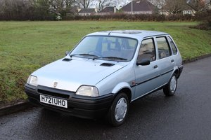 1991 Rover Metro 1.1 L 1992 - To be auctioned 31-01-2020