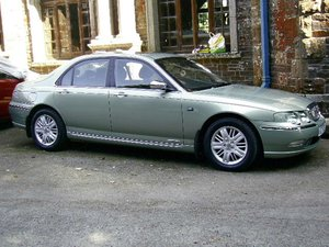 2000 My beautiful rover 75 v6 auto in Moonstone Green