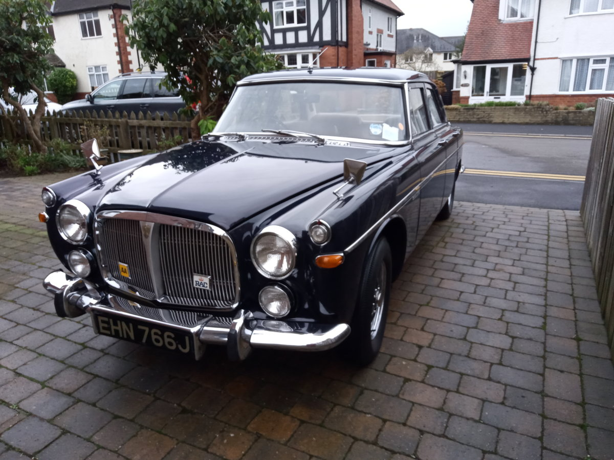 1970 Rover P5b Saloon, Admiralty Blue SOLD (picture 1 of 6)