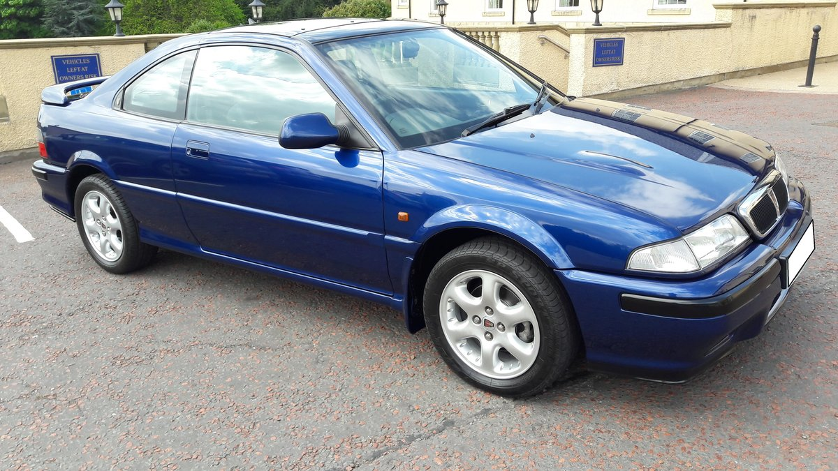 1995 Rover 220 coupe turbo, 10260 miles, concourse car For Sale (picture 6 of 6)