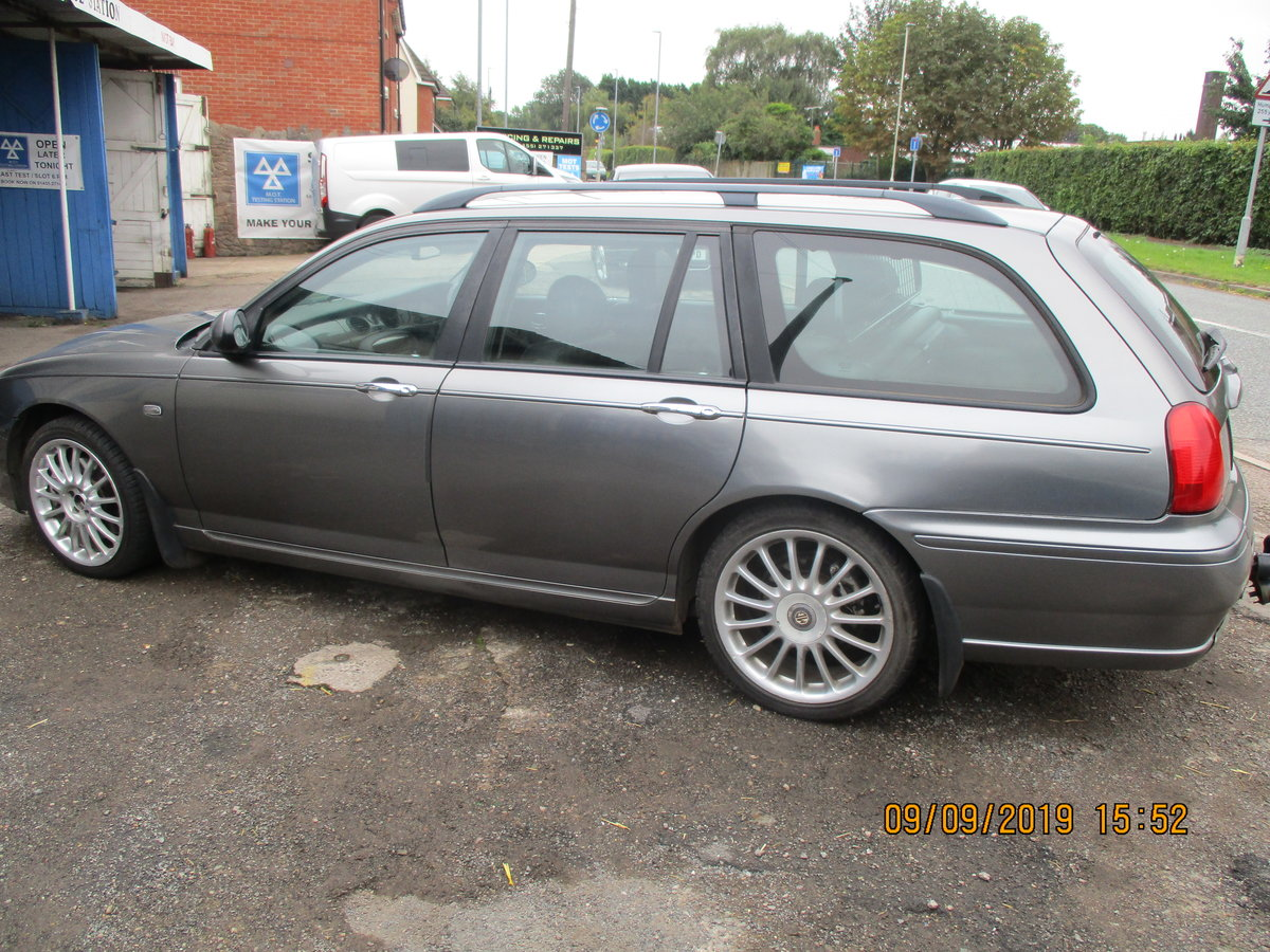 2003 MG 75 TOURING V/6 PETRIL MANAUL SUPER DRIVER RECENT CAM BELT For Sale (picture 3 of 6)
