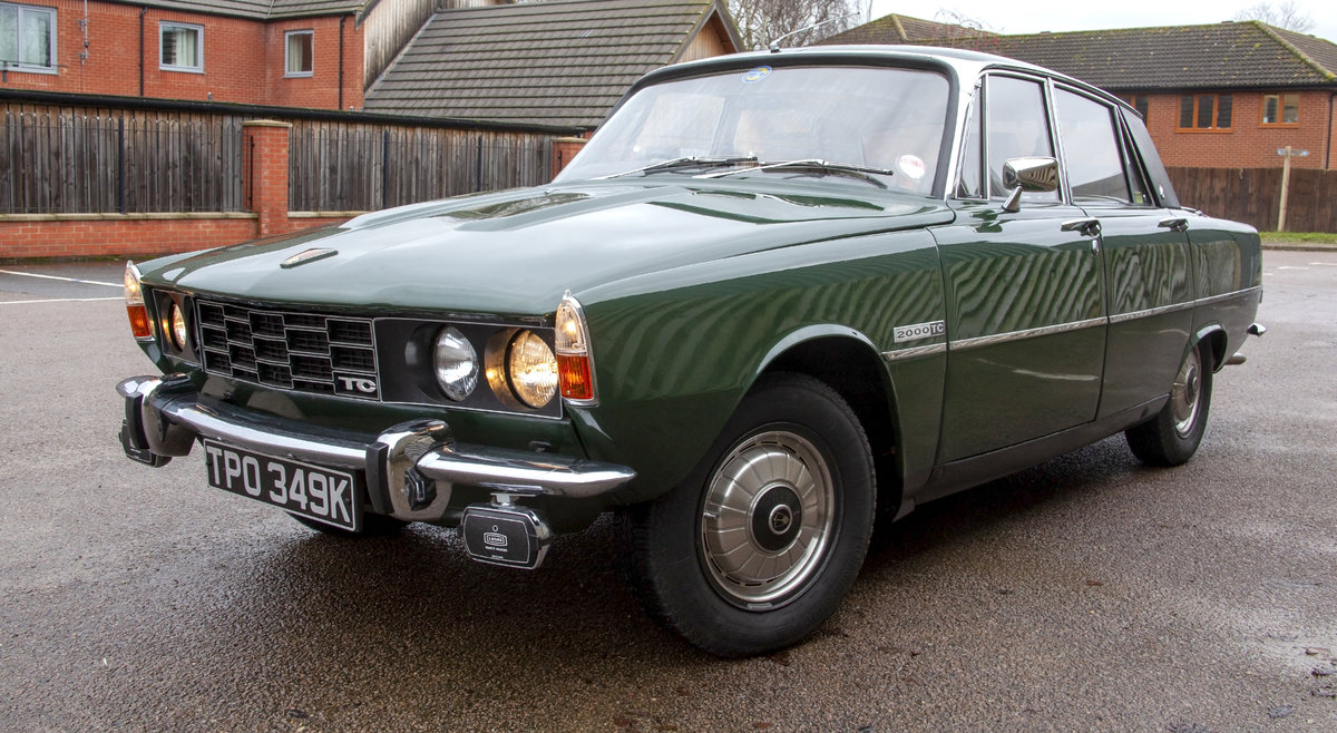 Rover P6 2000TC 2.0l Twin Carb Manual 1972 Saloon For Sale (picture 1 of 6)