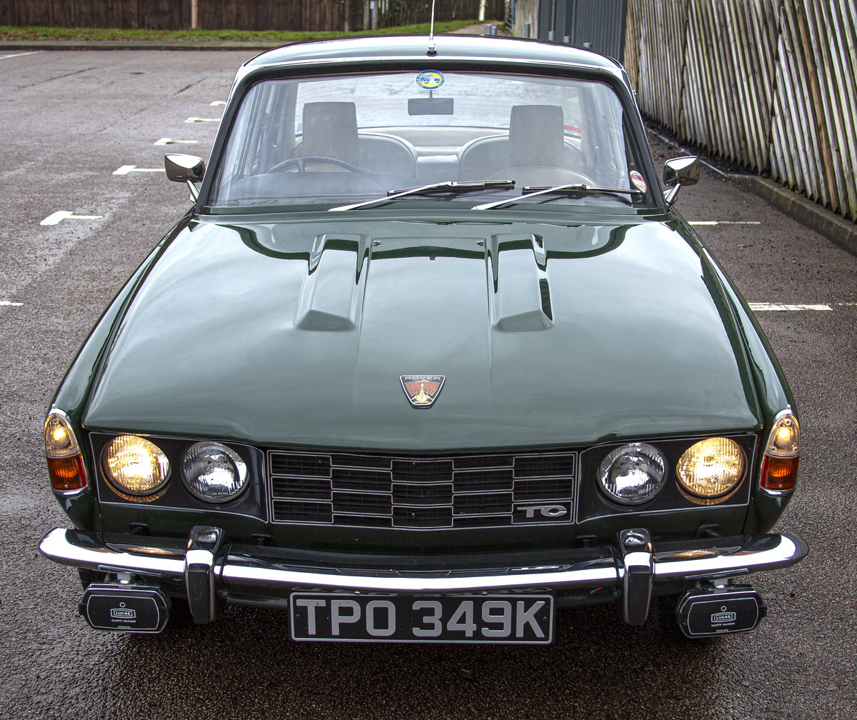 Rover P6 2000TC 2.0l Twin Carb Manual 1972 Saloon For Sale (picture 2 of 6)