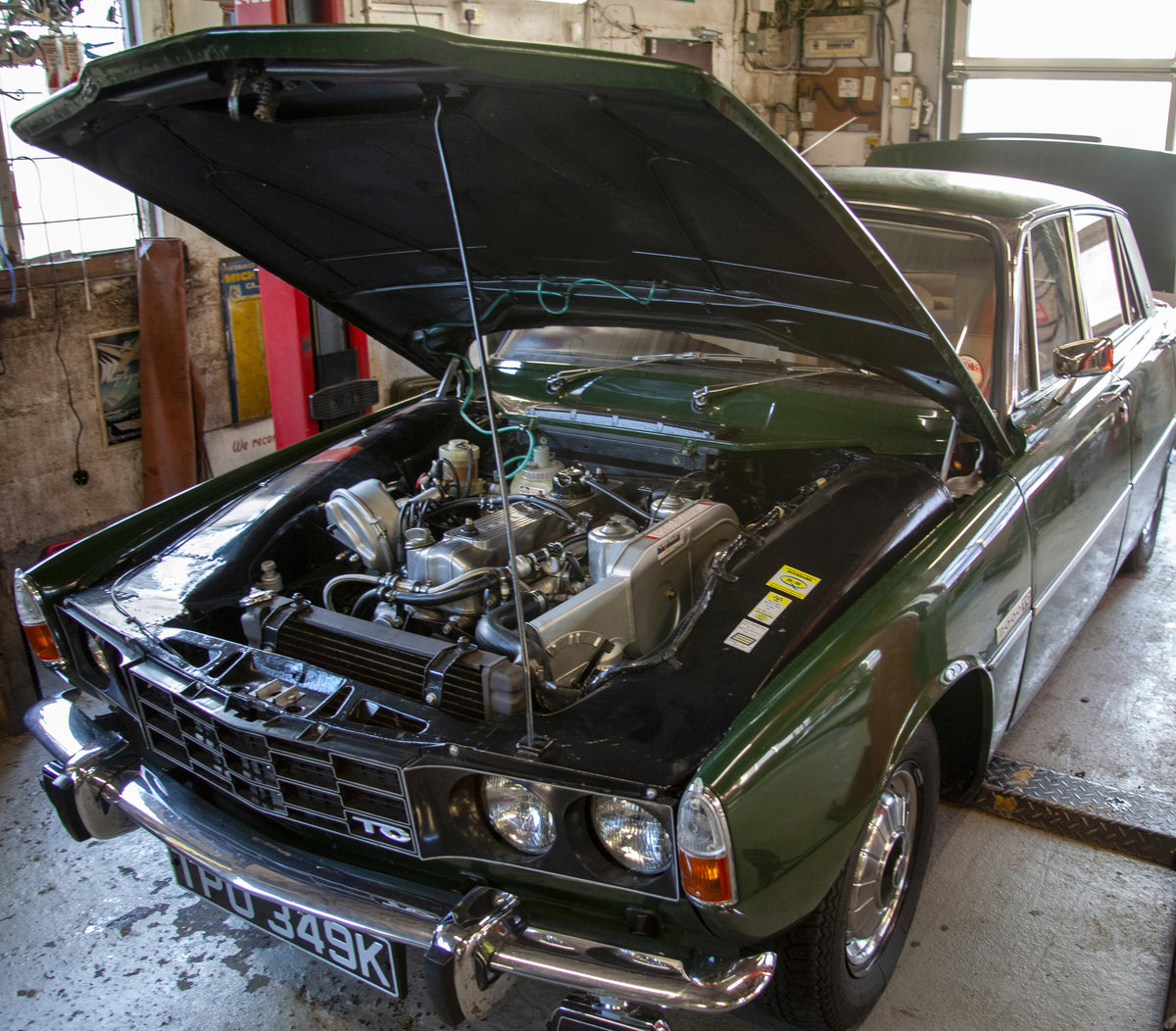 Rover P6 2000TC 2.0l Twin Carb Manual 1972 Saloon For Sale (picture 5 of 6)