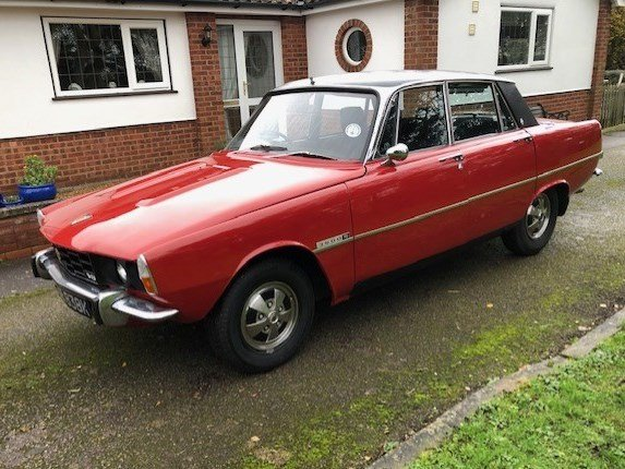 1972 Rover P6 3500 S at ACA 25th January  For Sale (picture 1 of 6)