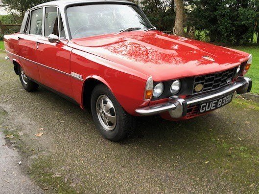 1972 Rover P6 3500 S at ACA 25th January  For Sale (picture 2 of 6)