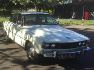 1973 Rover P6 2000TC White continental kit