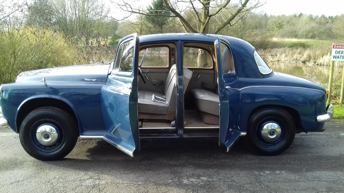 1961 ROVER P4 100 2.6 ~ USE & IMPROVE ~ GREAT WINTER CLASSIC SOLD (picture 1 of 6)