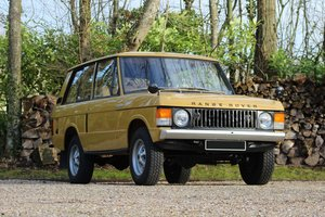 1972 Range Rover  For Sale by Auction