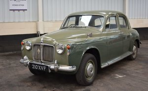 1961 Rover P4 80 For Sale by Auction