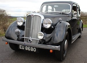 1947 Rover 12 HP Six Light Saloon Chassis number: 721100 SOLD
