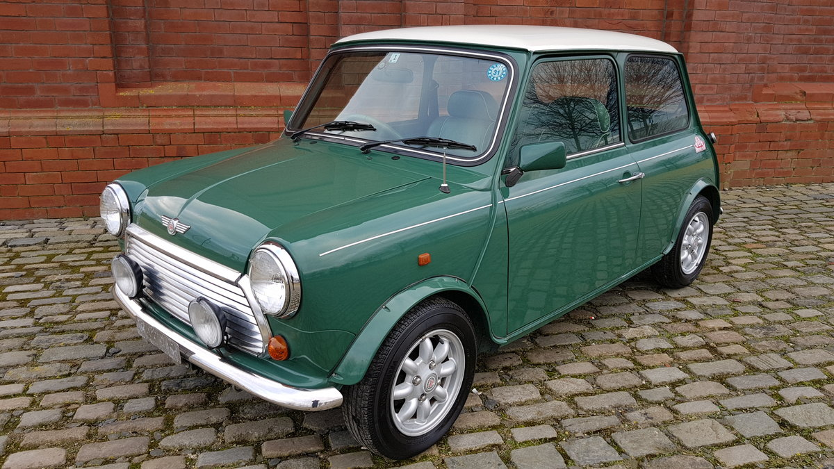 1996 ROVER MINI COOPER 35TH ANNIVERSARY EDITION AUTOMATIC * ONLY  For Sale (picture 1 of 6)