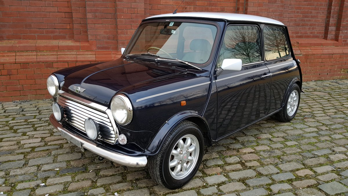 1998 ROVER MINI COOPER 1300 MANUAL VERY LOW MILEAGE For Sale (picture 1 of 6)