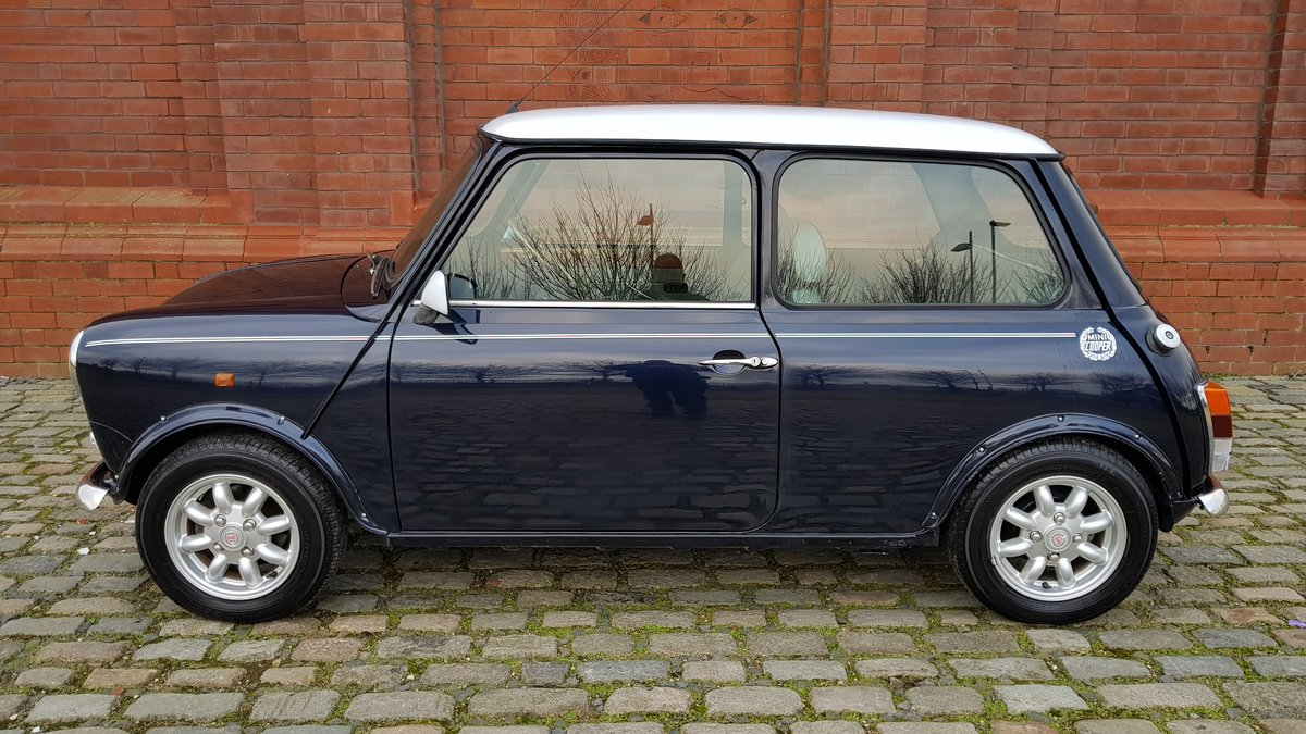 1998 ROVER MINI COOPER 1300 MANUAL VERY LOW MILEAGE For Sale (picture 2 of 6)