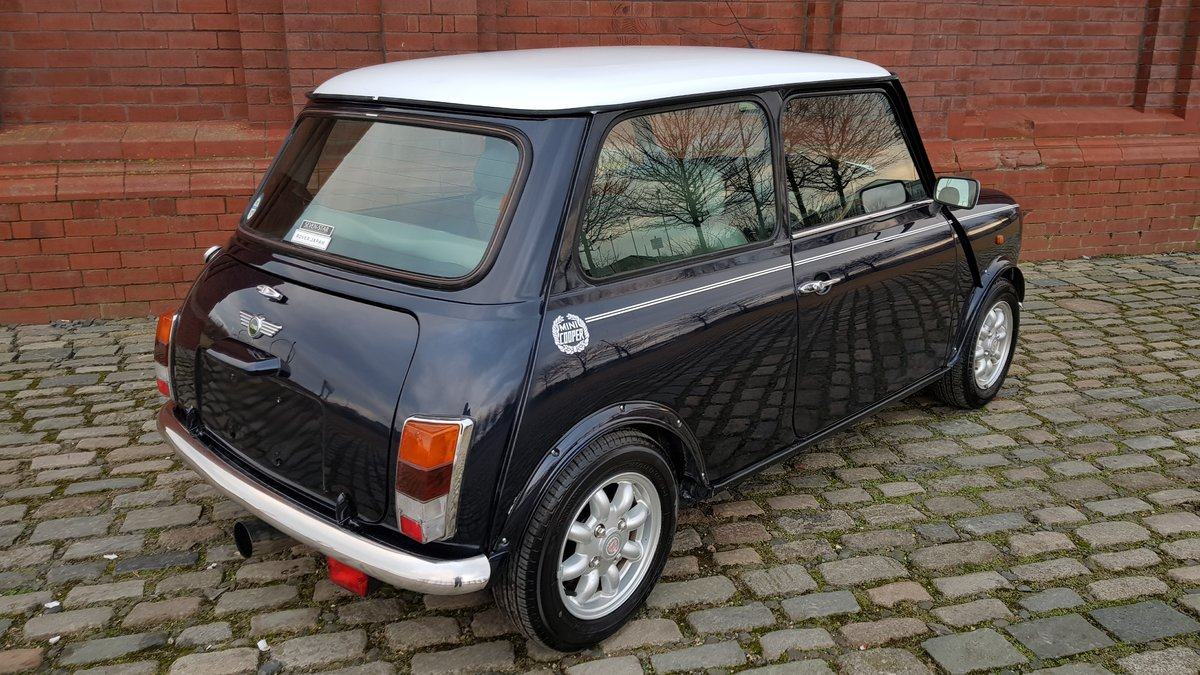 1998 ROVER MINI COOPER 1300 MANUAL VERY LOW MILEAGE For Sale (picture 3 of 6)