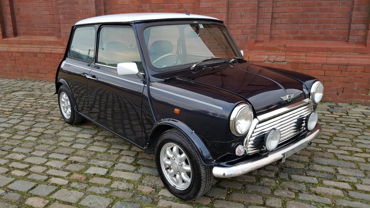 1998 ROVER MINI COOPER 1300 MANUAL VERY LOW MILEAGE For Sale (picture 4 of 6)