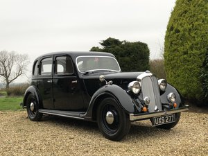 1937 Rover 12 P2 Beautifully Restored No Expense Spared