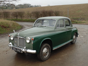 1960 Rover P4 80 For Sale