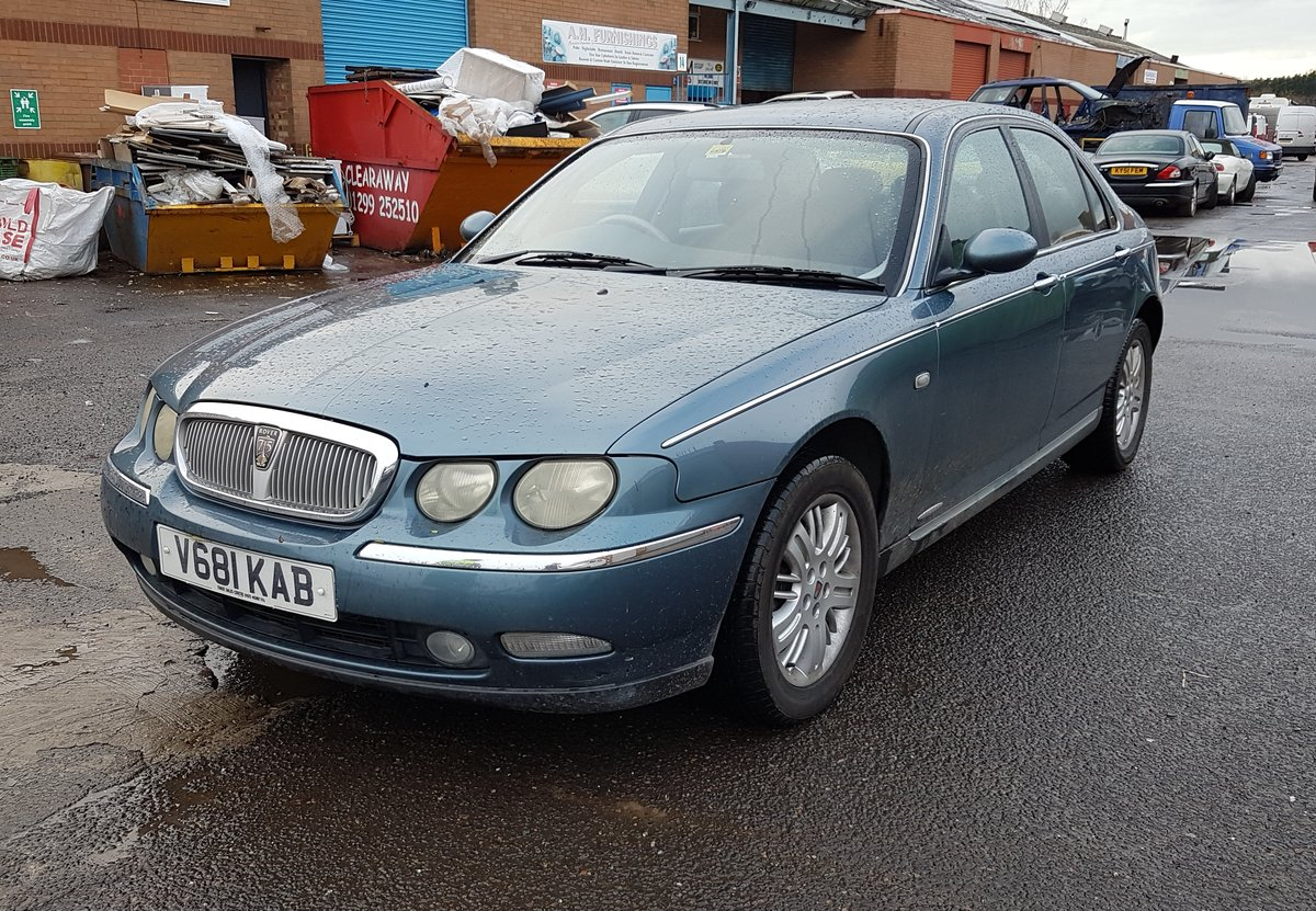 1999 All Original Rover 75 Club Saloon 2.0 V6 petrol engine (KV6) For Sale (picture 1 of 6)