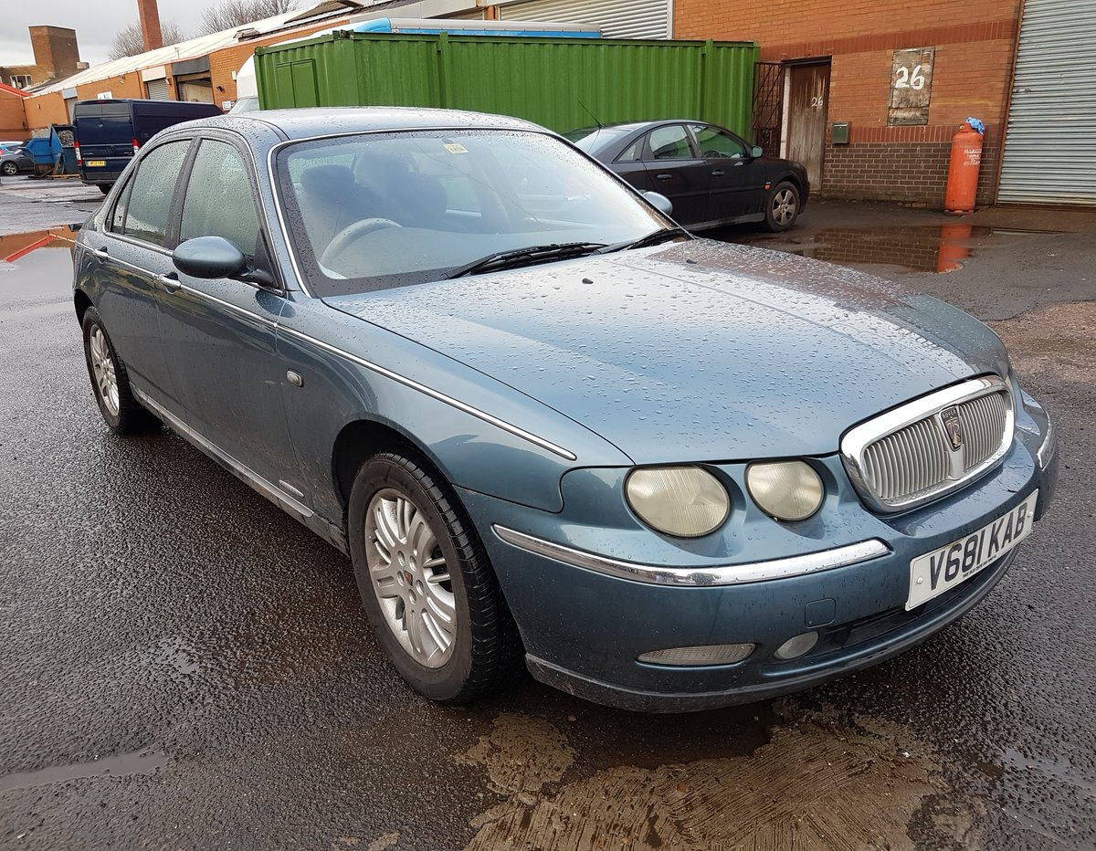 1999 All Original Rover 75 Club Saloon 2.0 V6 petrol engine (KV6) For Sale (picture 2 of 6)