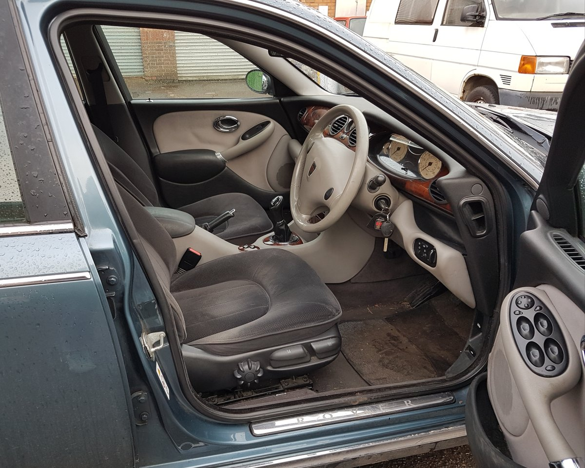 1999 All Original Rover 75 Club Saloon 2.0 V6 petrol engine (KV6) For Sale (picture 4 of 6)
