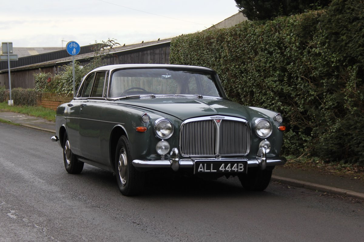 1964 Rover P5 Coupe, 34550 Miles, 1st Owner 40 Years, Top Class For Sale (picture 1 of 24)