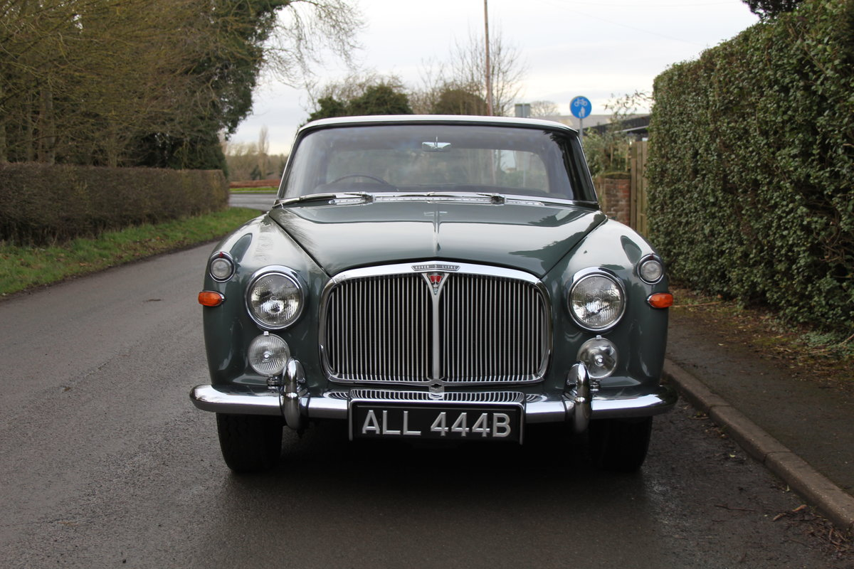 1964 Rover P5 Coupe, 34550 Miles, 1st Owner 40 Years, Top Class For Sale (picture 2 of 24)