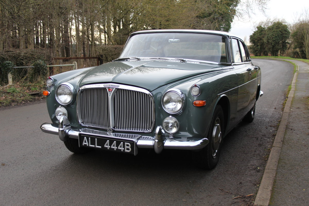 1964 Rover P5 Coupe, 34550 Miles, 1st Owner 40 Years, Top Class For Sale (picture 3 of 24)