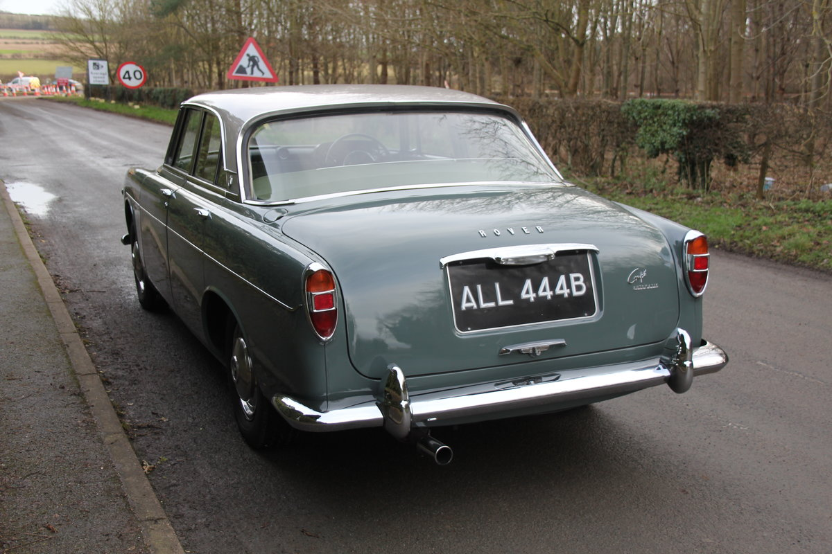 1964 Rover P5 Coupe, 34550 Miles, 1st Owner 40 Years, Top Class For Sale (picture 4 of 24)