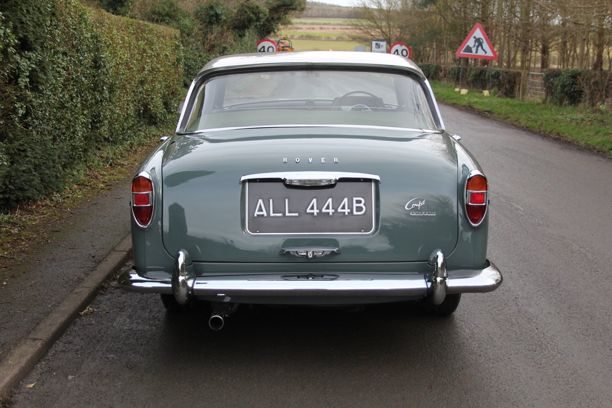1964 Rover P5 Coupe, 34550 Miles, 1st Owner 40 Years, Top Class For Sale (picture 5 of 24)
