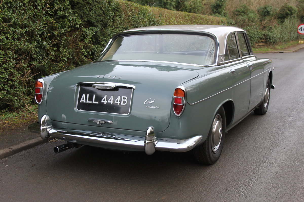 1964 Rover P5 Coupe, 34550 Miles, 1st Owner 40 Years, Top Class For Sale (picture 6 of 24)