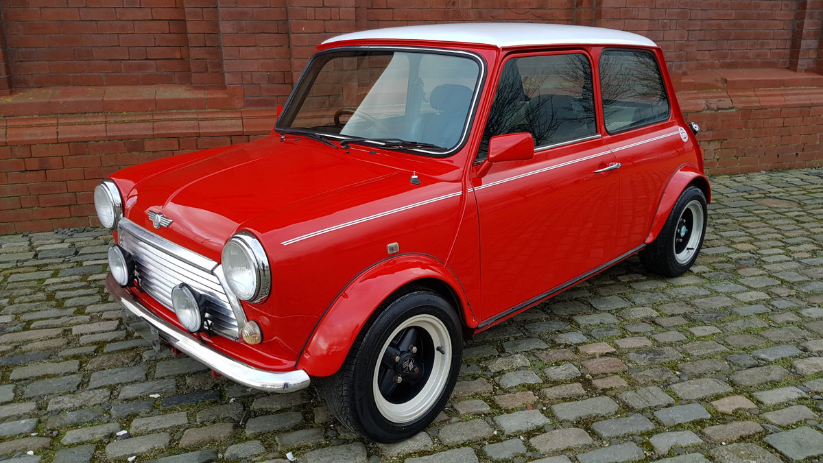 1998 ROVER MINI COOPER 1300 MANUAL * ONLY 39000 MILES * For Sale (picture 1 of 6)