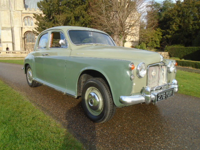 1961 Rover P4 100 + Overdrive.  For Sale (picture 1 of 6)