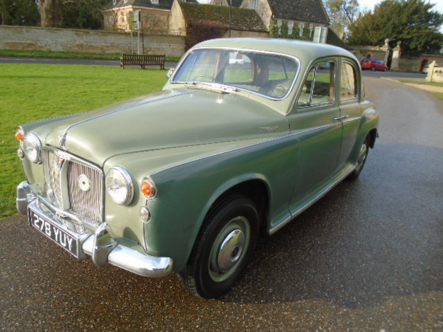 1961 Rover P4 100 + Overdrive.  For Sale (picture 2 of 6)