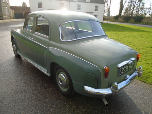 1961 Rover P4 100 + Overdrive.  For Sale (picture 4 of 6)