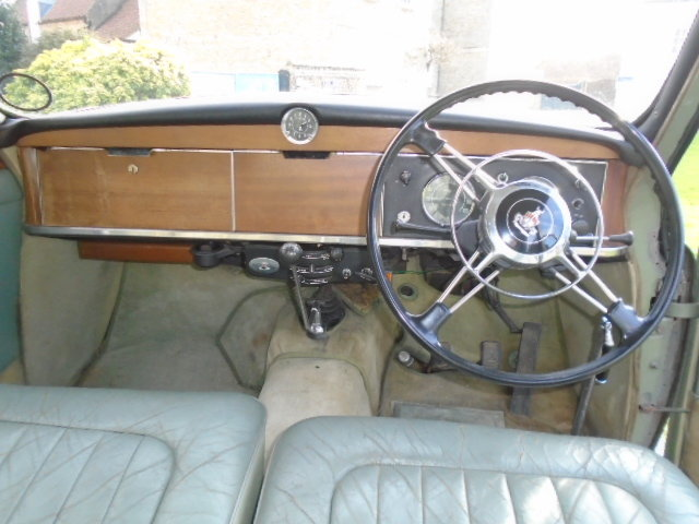 1961 Rover P4 100 + Overdrive.  For Sale (picture 6 of 6)